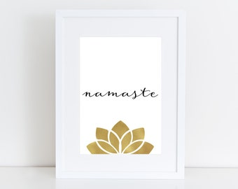 Namaste  -  Printable art , Instant download
