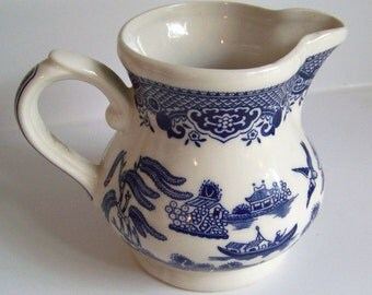 Blue Willow Pitcher or Creamer