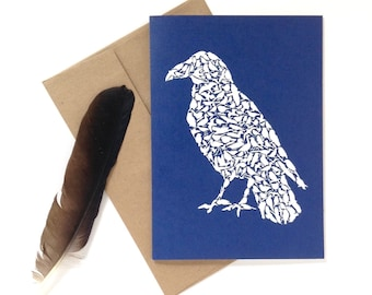 Raven Card Box of 6 Cards