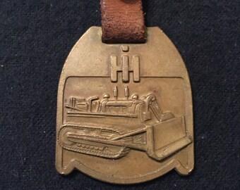 Vintage International Harverster Bronze Tag