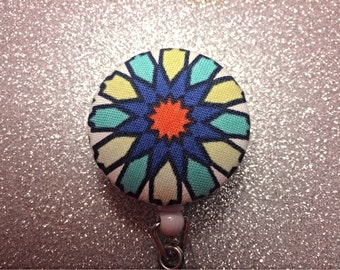 Colorful Retractable Badge Holder.