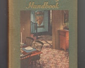 Homemaker's Encyclopedia Decorating Handbook 1951 Mid Century Decor