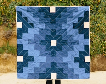 Lone Rock Quilt - Water