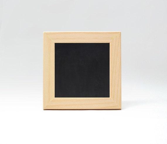 5x5 chalkboard frame unfinished wood frame chalkboard for Unfinished wood frames for crafts
