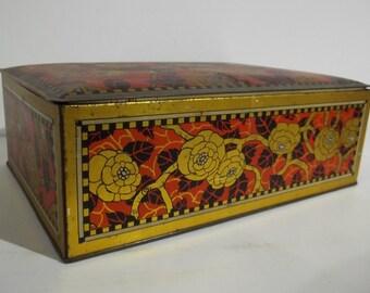 Vintage Canco Candy Tin / Box