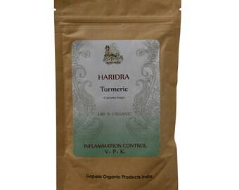 Turmeric Powder (USDA Certified Organic) - Gopala Ayurveda