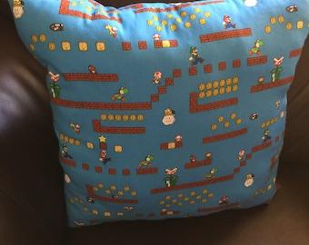 Original Nintendo Super Mario pillow