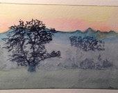 Greeting Card, Watercolor...