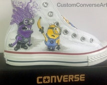 Custom Painted Converse Hi Tops Shoes All Adult & Childrens Sizes