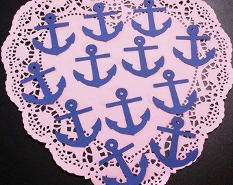 Anchor Die Cuts Embellishments: Navy Blue (Navy Cardstock)