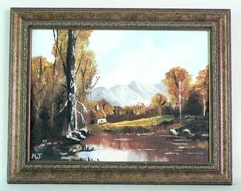 Artist Original Woodland Painting