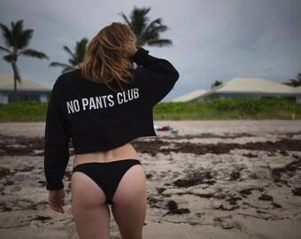 no pants club pullover