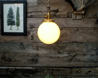 popular items for hanging light globe on etsy