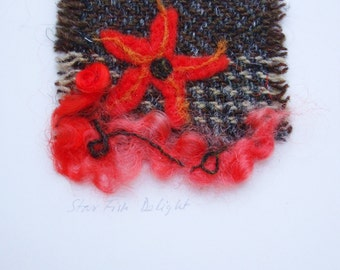 Fibre art gift cards (with envelope)