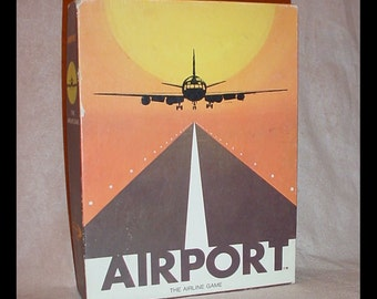 Airport the Airline Game 1972 Dynamic Design Industries