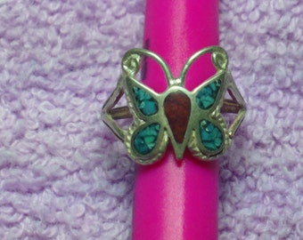 Vintage Sterling & Turquoise Ring (1960's) never worn