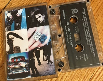 U2 'Actung baby' vintage cassette tape