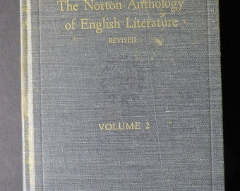 The Norton Anthology of English Literature, Volume 2, 1980 pages
