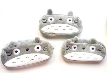 Totoro Fluffy Pencilcase