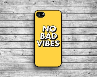 No Bad Vibes case - black / iPhone 4/4S iPhone 5/5S iPhone 5c iPhone 6/6s iPhone 6 Plus/6s Plus NAT-075