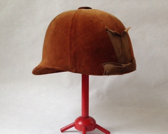 charming vintage child's riding cap