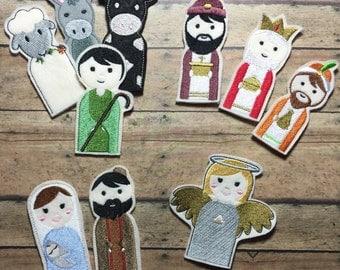 Finger Puppets - Nativity