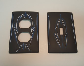 Hot Rod Light Switch Covers Set
