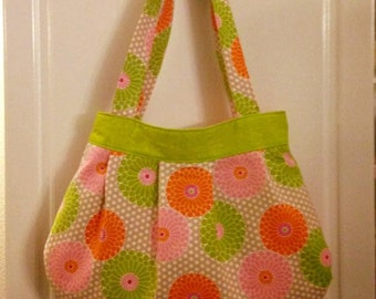 Pleated Tote/Hobo Bag *READY TO SHIP*