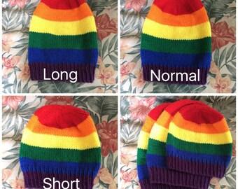 Gay/Lesbian Pride Beanie