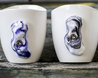 Rock Climbing Mug Set of 2 (Swirl)