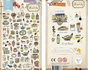 Sonia stickers- Brunch day