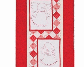 Angels in Red Quilt Kit