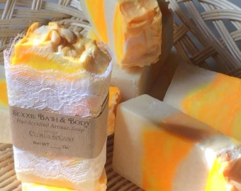 Citrus Splash Handcrafted Soap