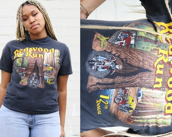 Vintage Harley Davidson Redwoods Shirt