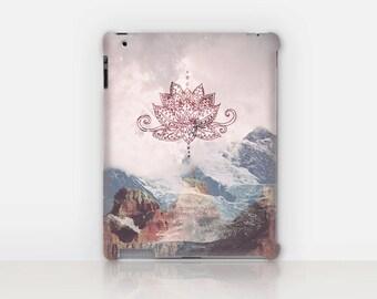 Lotus iPad Case For - iPad 2, iPad 3, iPad 4 - iPad Mini - iPad Air - Mandala