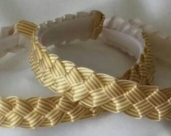 Woven Satin Headbands