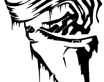 Divergent Tris Tattoo Vinyl Decal Sticker Free Shipping