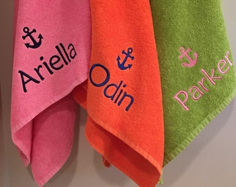 Personalized Kids Towel