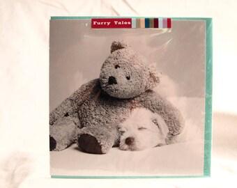 Teddy and Dog Card