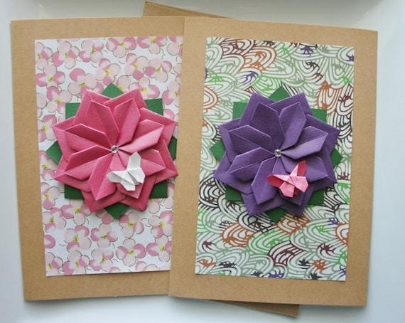 handmade spring cardset of 2 cardsmother's day