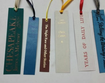 Bookspine bookmark collection 7