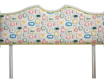 Pine Upholstered Headboard
