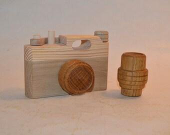 Wooden camera.