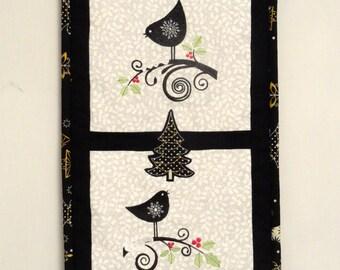 Black Birds Wall Hanging