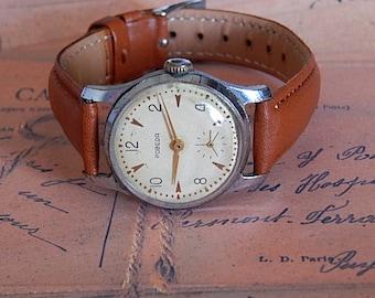 Pobeda Watch, Soviet Mechanical Watches, Pobeda Mens, Watch Vintage Watches Pobeda Made In USSR 60's