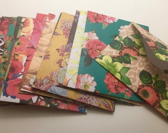 Handmade Envelopes - Floral Flair