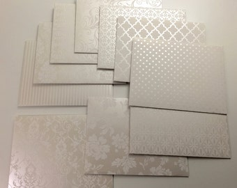 Handmade Envelopes - Wedding Bells