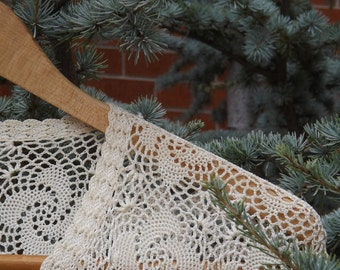 Vintage Ivory Lace Top