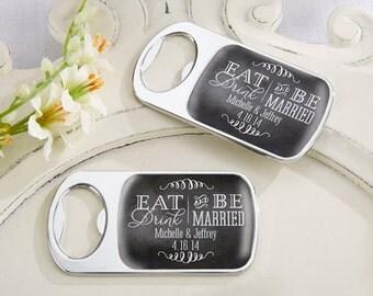 Wedding favors - 24 custom bottle opener wedding favor, personalized bottle openers, bridal shower favors, wedding favor, party favors
