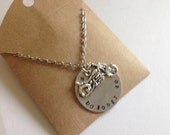 Sons of Anarchy, Jax Teller, My Heart Belongs to Jax Handstamped charm